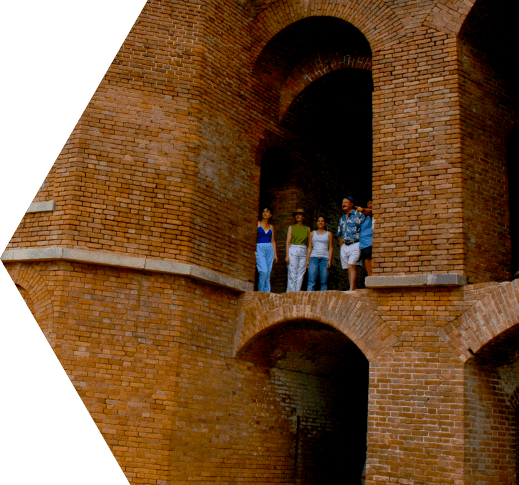 photo of soldiers at fort jefferson