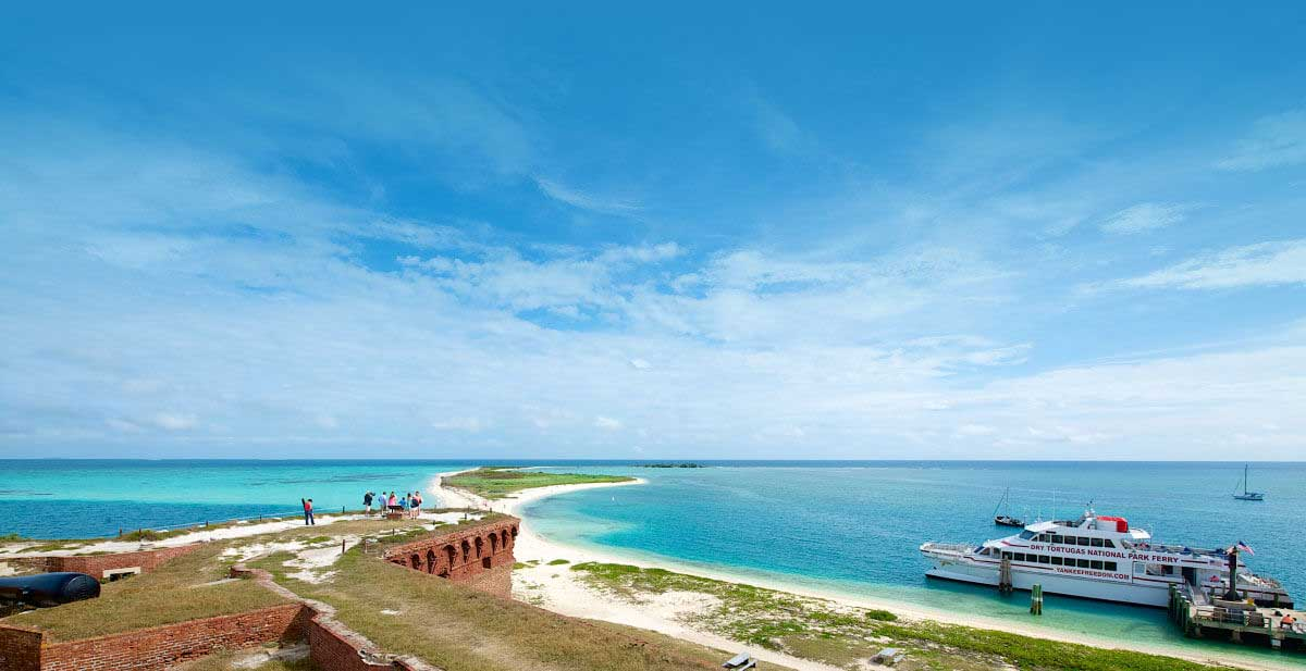 photo of the dry tortugas