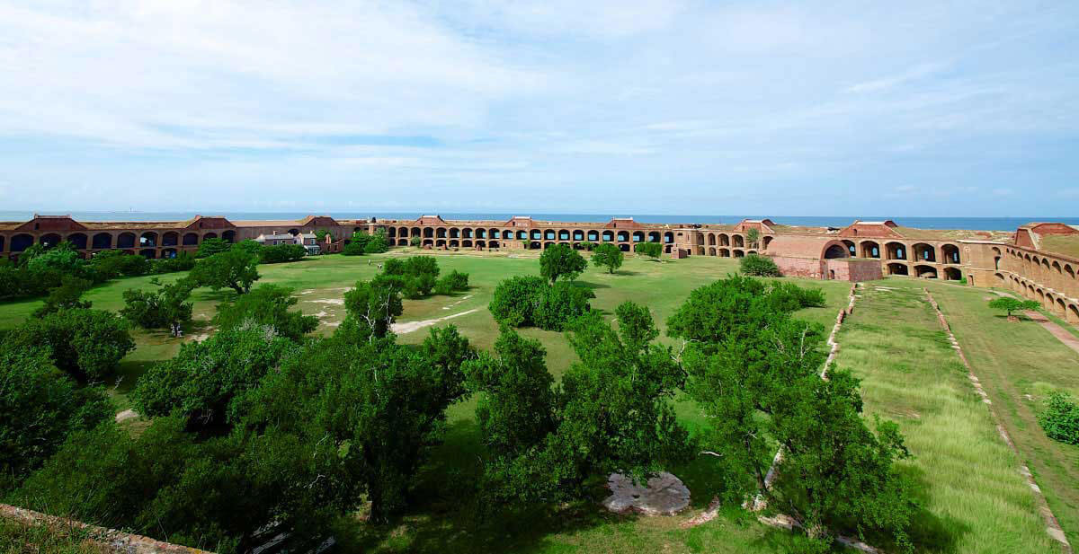 photo of fort jefferson at the dry tortugas