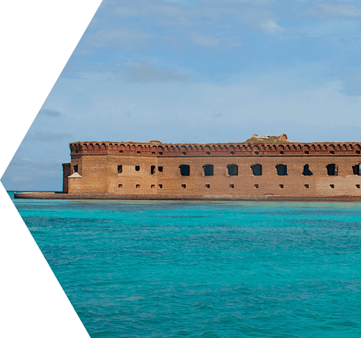 photo of the history of the dry tortugas islands