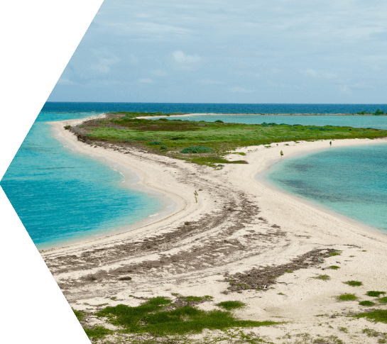 photo of the dry tortugas islands