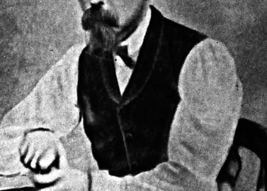 Black and white image of Samuel Mudd
