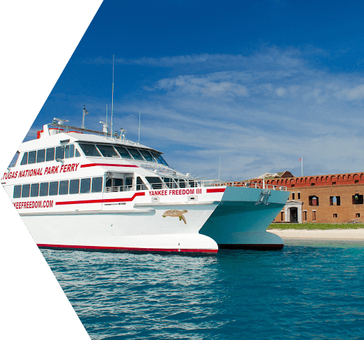photo of key west ferry to the dry tortugas