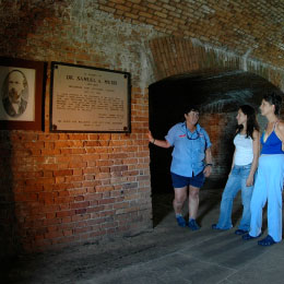 photo of samuel mudds cell at fort jefferson