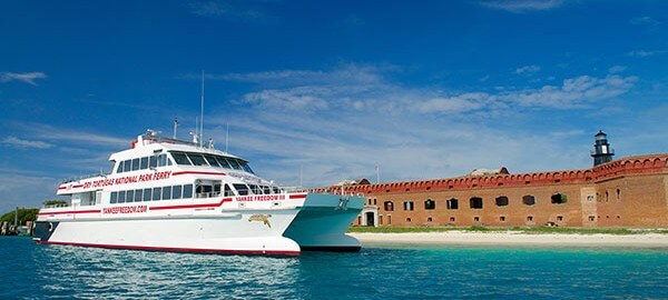 Yankee Freedom at Fort Jefferson Dock
