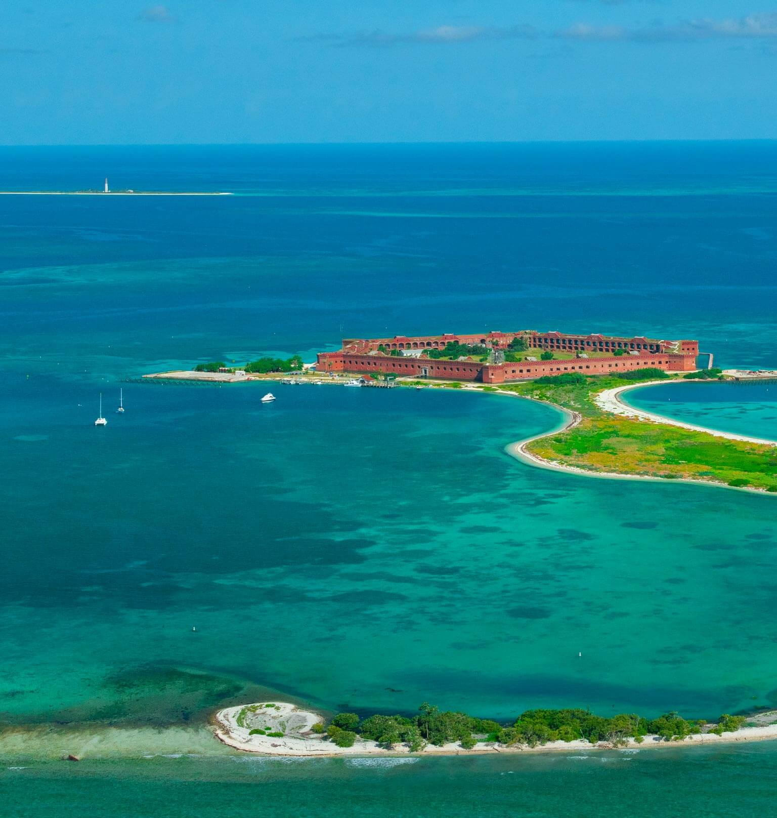 photo of the yankee freedom three at the dry tortugas Tablet
