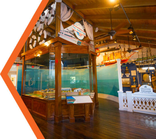 The Interpretive Center at the Dry Tortugas